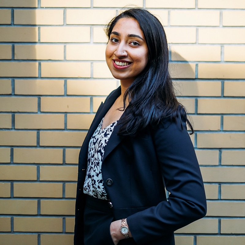 Headshot of Sidney Smith Commons Assistant Sukhmani
